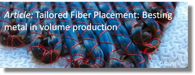 Tailored Fiber Placement: Besting metal in volume production