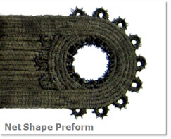 Near Net Shape Preforms
