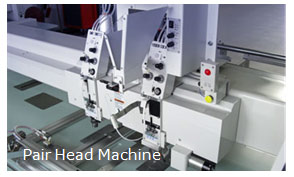 Pair Head Machine