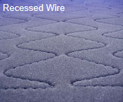 Recessed Wire